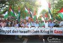 7000 protestieren gegen den israelischen Krieg in Gaza