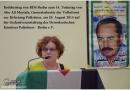 Redebeitrag am 29. August 2015 zum 14. Jahrestag der Ermordung von Abu Ali Mustafa