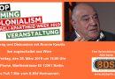 Vortrag und Diskussion mit Ronnie Kasrils aus Südafrika
