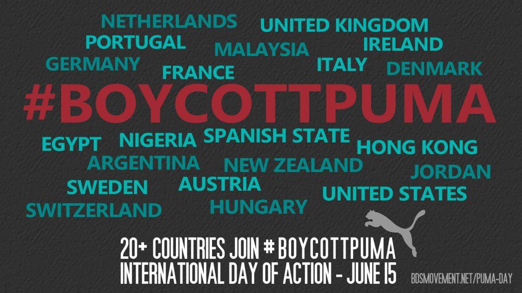 #BoycottPUMA