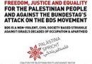 Demonstriert mit uns gegen den Angriff des Bundestags auf unsere Meinungsfreiheit