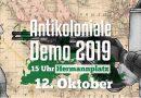 Antikoloniale Demo – 12. Oktober 2019