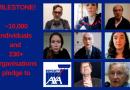 Über 250 Organisationen, Gewerkschaften und Unternehmen versprechen, AXA zu boykottieren