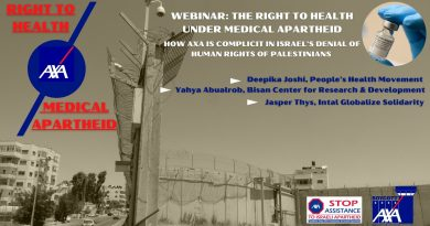 Webinar: The Right to Health under Medical Apartheid