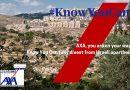 AXA investiert weiterhin in israelische Apartheid. Boykottiert AXA jetzt!