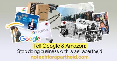 No Tech For Apartheid